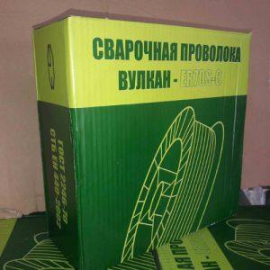 Проволока VULCAN ER70S-6 д.0,8 мм (5 кг)