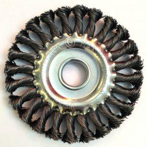 Кордщетка дисковая витая д. 115 мм