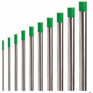 Вольфрамовый электрод WP д. 2,4 мм (зеленый)