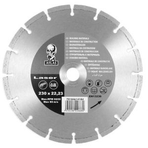 Диск алмазный Atlas laser 230х22,2 (70184614184)