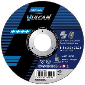 Круг отрезной Norton Vulcan 125х2,5х22,2